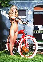 Nicole Aniston in Sophisticated Bicycle