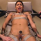 Jade Indica Brutally Violated by Three Fierce Fem Doms: Air-Tight Penetration with Strap-on's