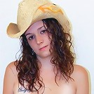 Slippery Sara is a hot cow girl