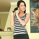 Glamorous 18 y.o. Devon shows off her pussy