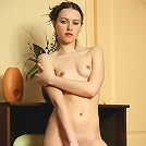 Beautiful young goddess Karla isn\'t shy about doing some naughty thing