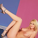 Antonia - Counter Beauty - Beautiful big tits blonde sweetie