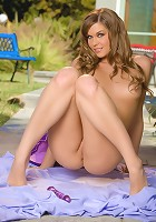 Adrienne Manning is on a little solo sex picnic