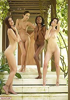 Candice Engelie Kiki Valerie 4 Fab Females