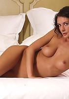 Orsi Posing in Bed