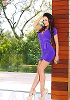 Kirsten Price fondles her beautiful breasts and spreads her legs