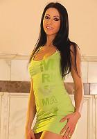 Brigitte Hunter stripping