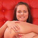 Babelicious.com (Pics) - Kari K - Horny Kari K spreads her legs to show her tight pussy
